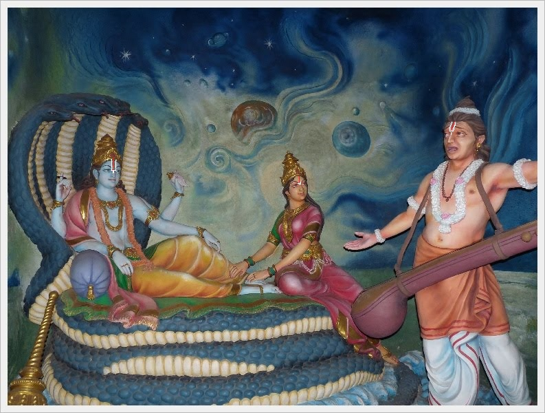 vishnu-and-naradha