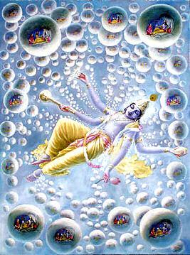Mahavishnu-universes