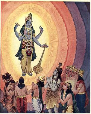 dhevas-worshipping-vishnu