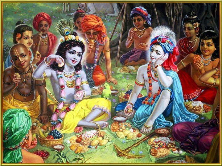 krishna-eating