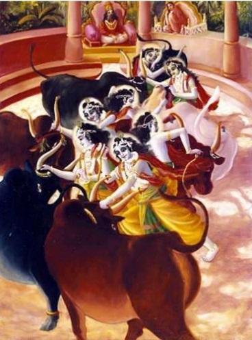 krishna-7-bulls