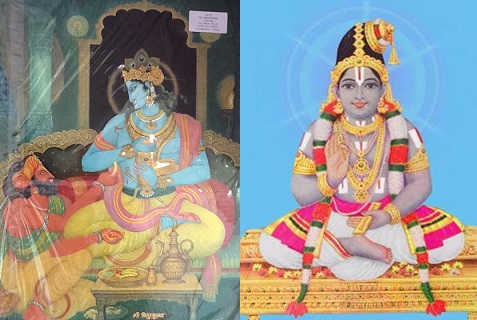 krishna-vidhura - azhwar