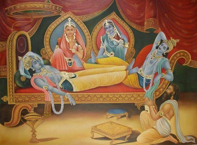 krishna-arjuna-draupathi-sathyabama