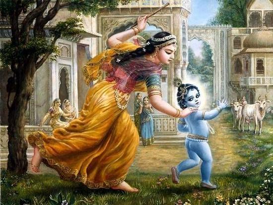 yasodha-chasing-krishna