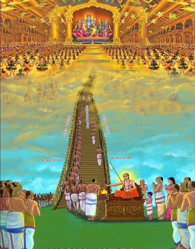 ramanuja showing paramapadham