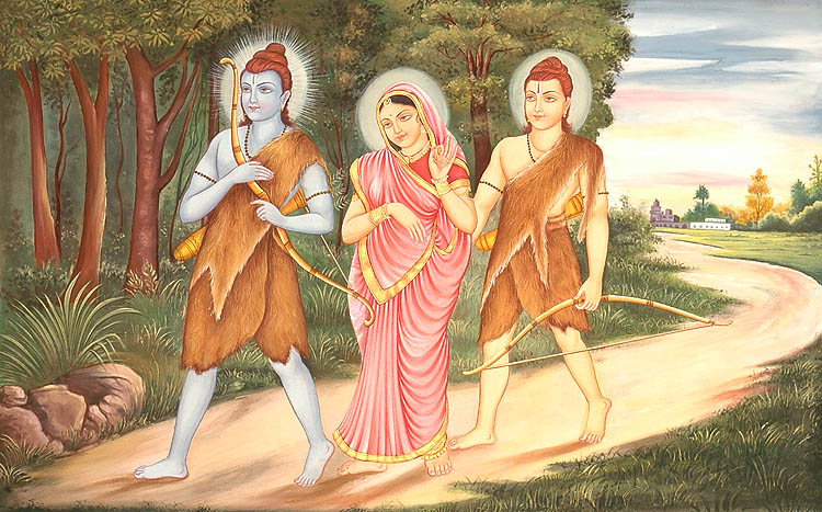 rama-sita-lakshmana