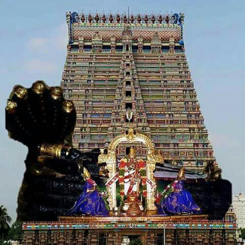 sriranganathan-gopuram-background